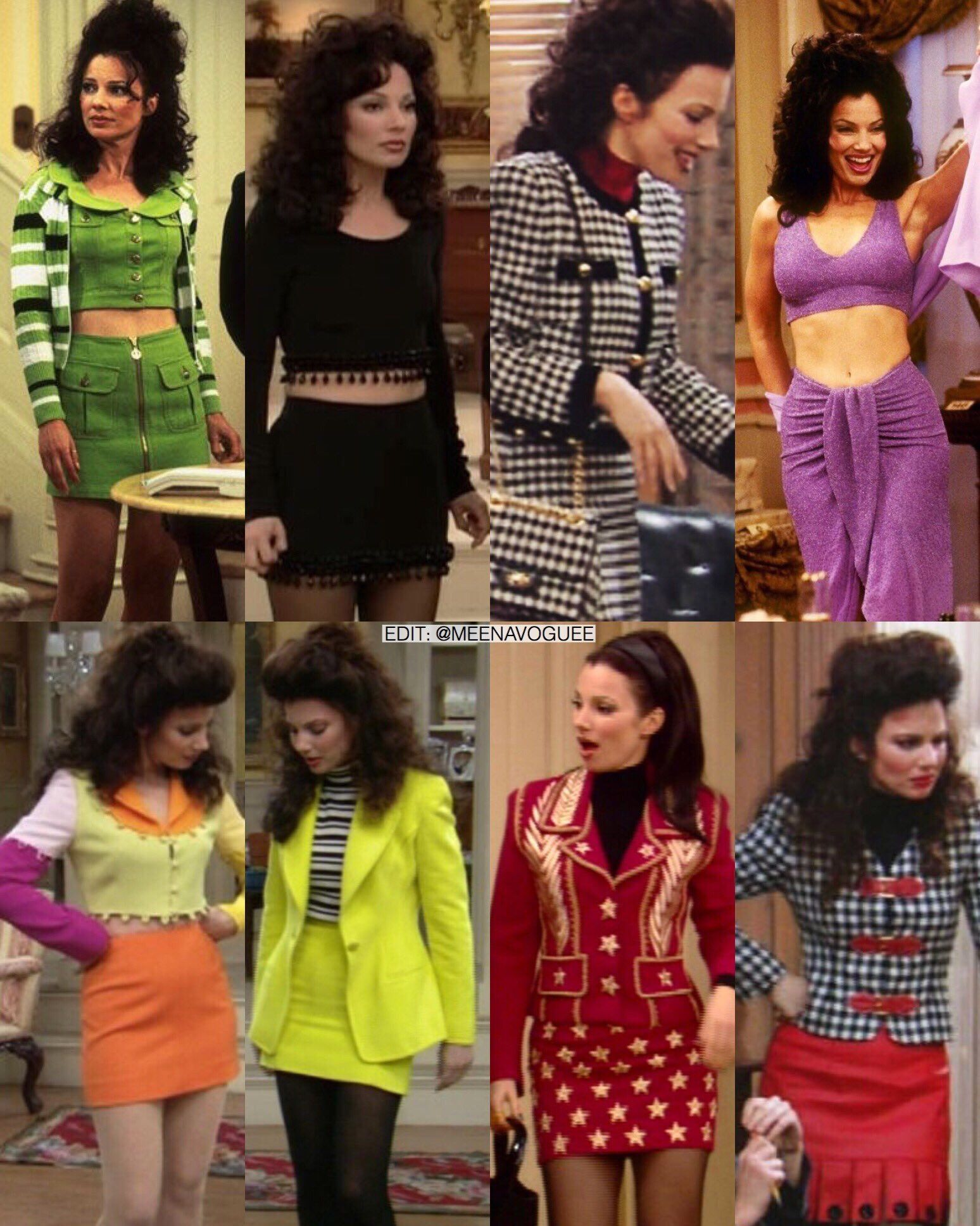 Fran Fine | The Nanny | Vintage moda mujer, Moda ochentera, Moda ...