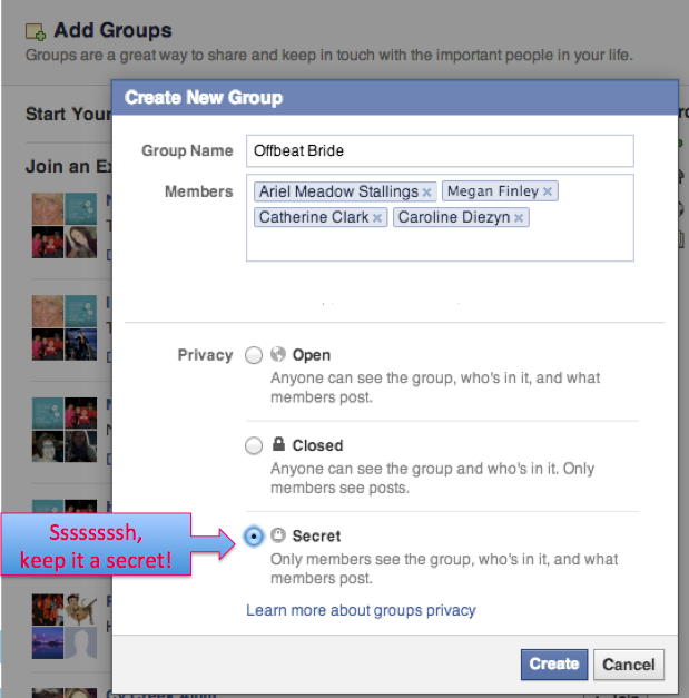 How To Get Into A Secret Group On Facebook