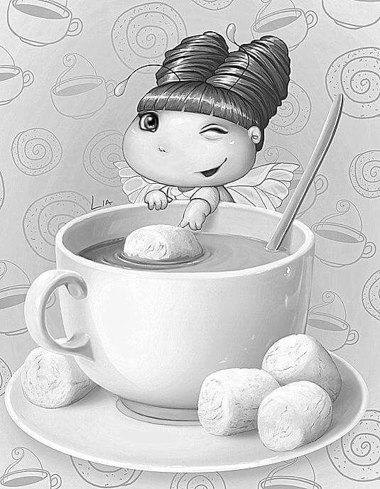 Meisje | Coloring Pages | Pinterest | Dolls and Scale