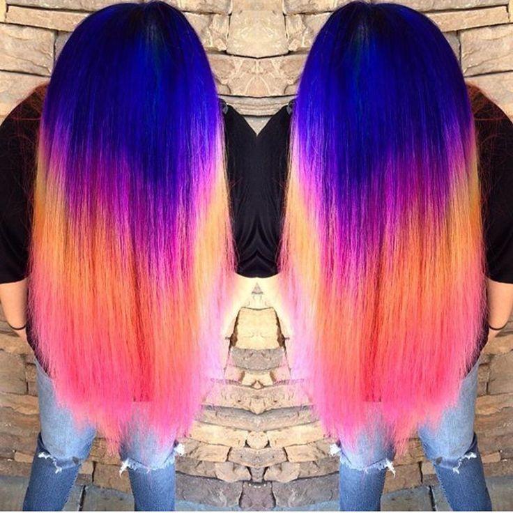 Pinwheel Block Color Lightener Hair Ink Works Pink