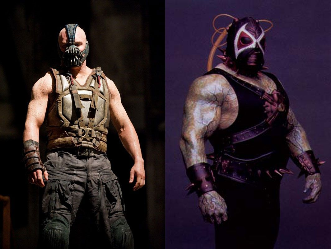 Tom Hardy Left And Robert Alexander Jeep Swenson Jr Right As Bane Extraordinary Gentlemen Bane League Of Extraordinary Gentlemen