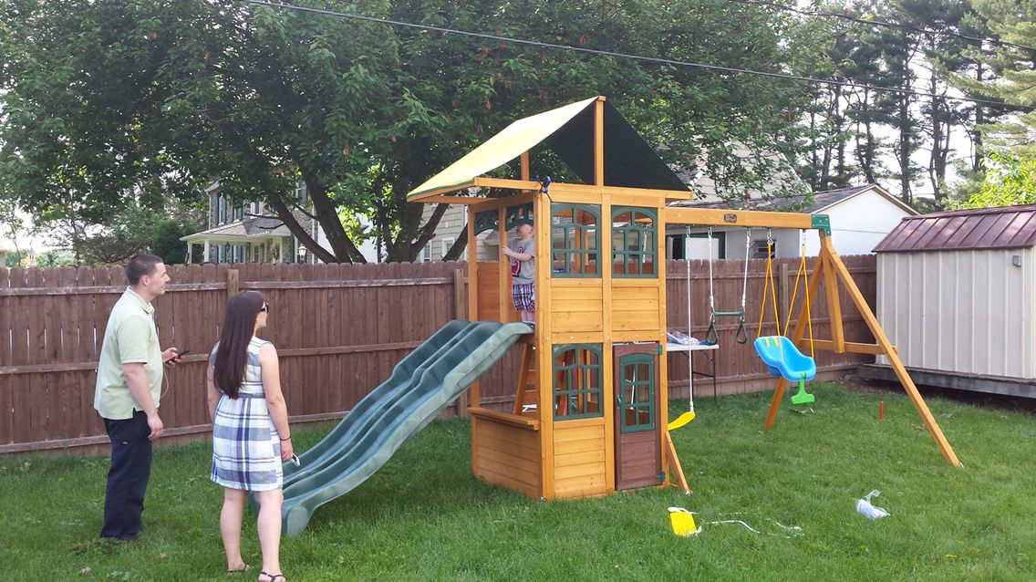 66 treasure cove playset delivered and assembled in