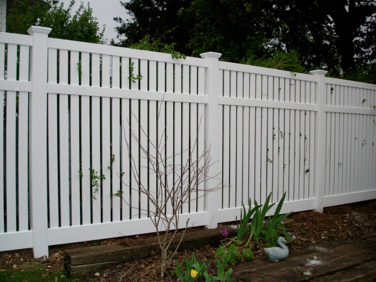 Beautiful Fence Installation Job In Schnecksville Of Semi Privacy
