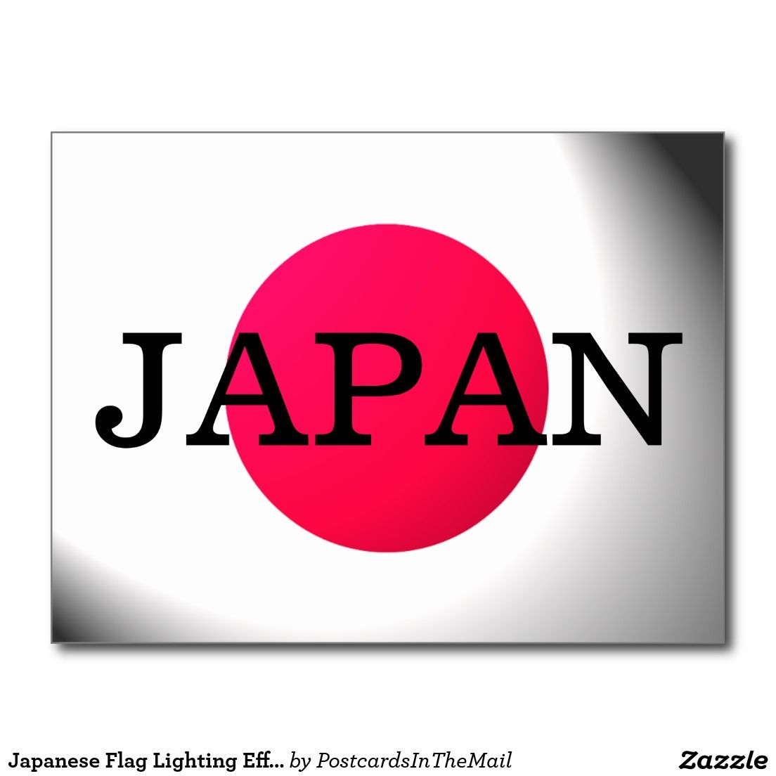 Japanese flag lighting effect japan text postcard world flags japanese flag lighting effect japan text postcard arubaitofo Image collections