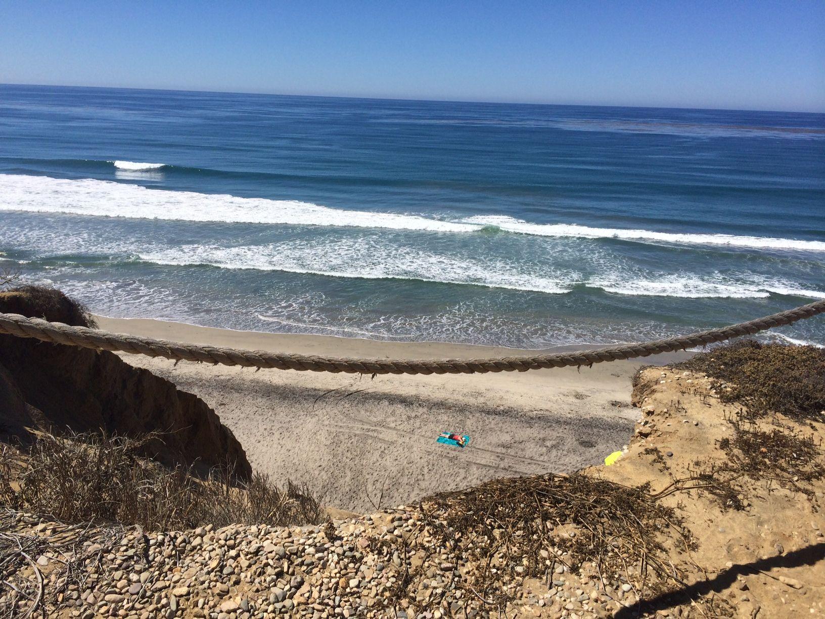Solana Beach California View Of The Ocean From And Tennis Club