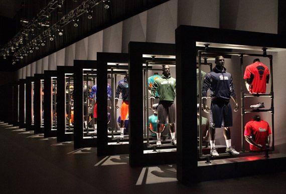 Nike NFL Uniform Launch   Event Recap   Store design interior ...