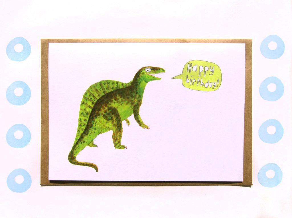 dinosaurs birthday card - Cerca amb Google | Dinosaures | Pinterest