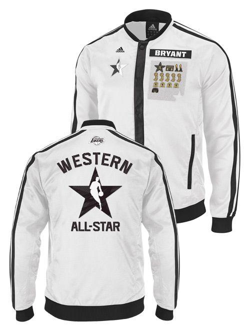 e50e1f845 Los Angeles Lakers 2013 All-Star Kobe Bryant Track Jacket ...