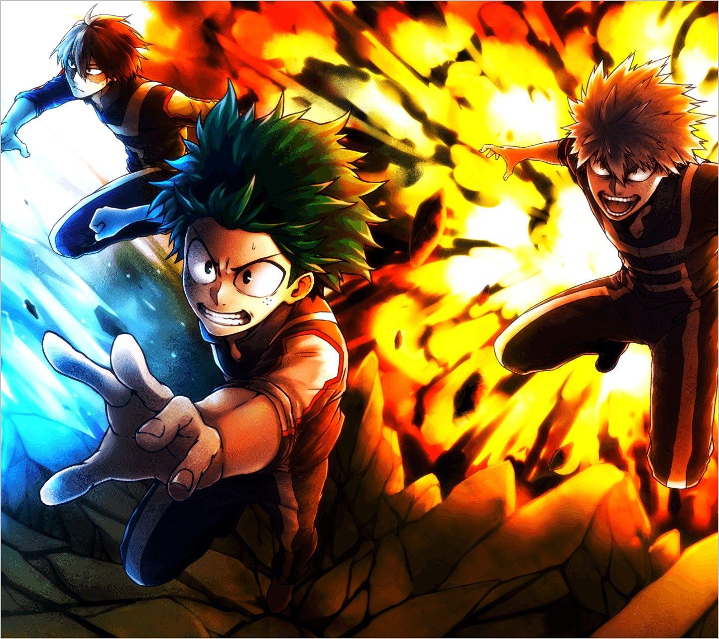 Mha 4k Wallpaper Pc My Hero Academia My Hero Anime