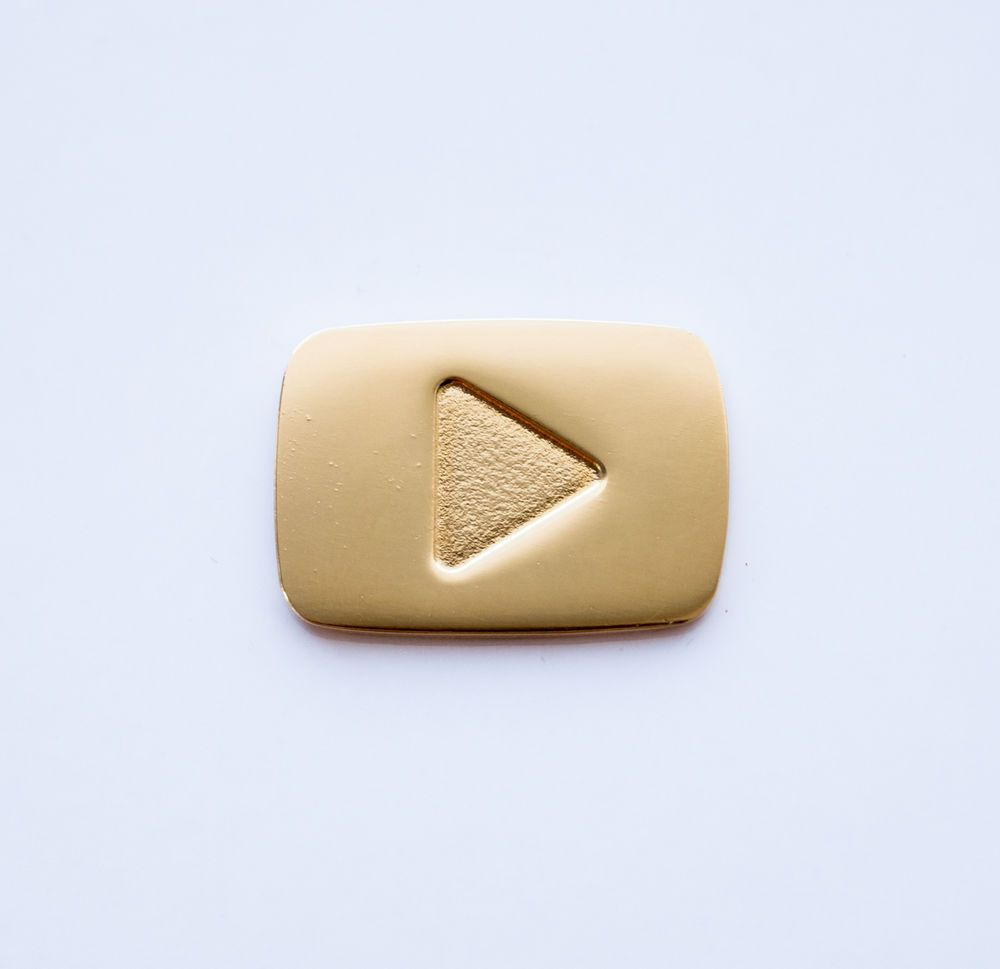 Is The Gold Play Button Real Gold