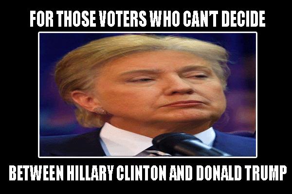 Hillary Clinton And Donald Trump Funny Meme   Memes ...