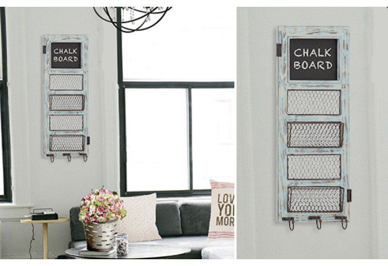 Our Bulletin Board With Chalkboard Is A Wall Basket That Fits Perfectly  Into Any Space And Makes Remembering Tasks A Breeze. For More Decor Ideas  Visit ...