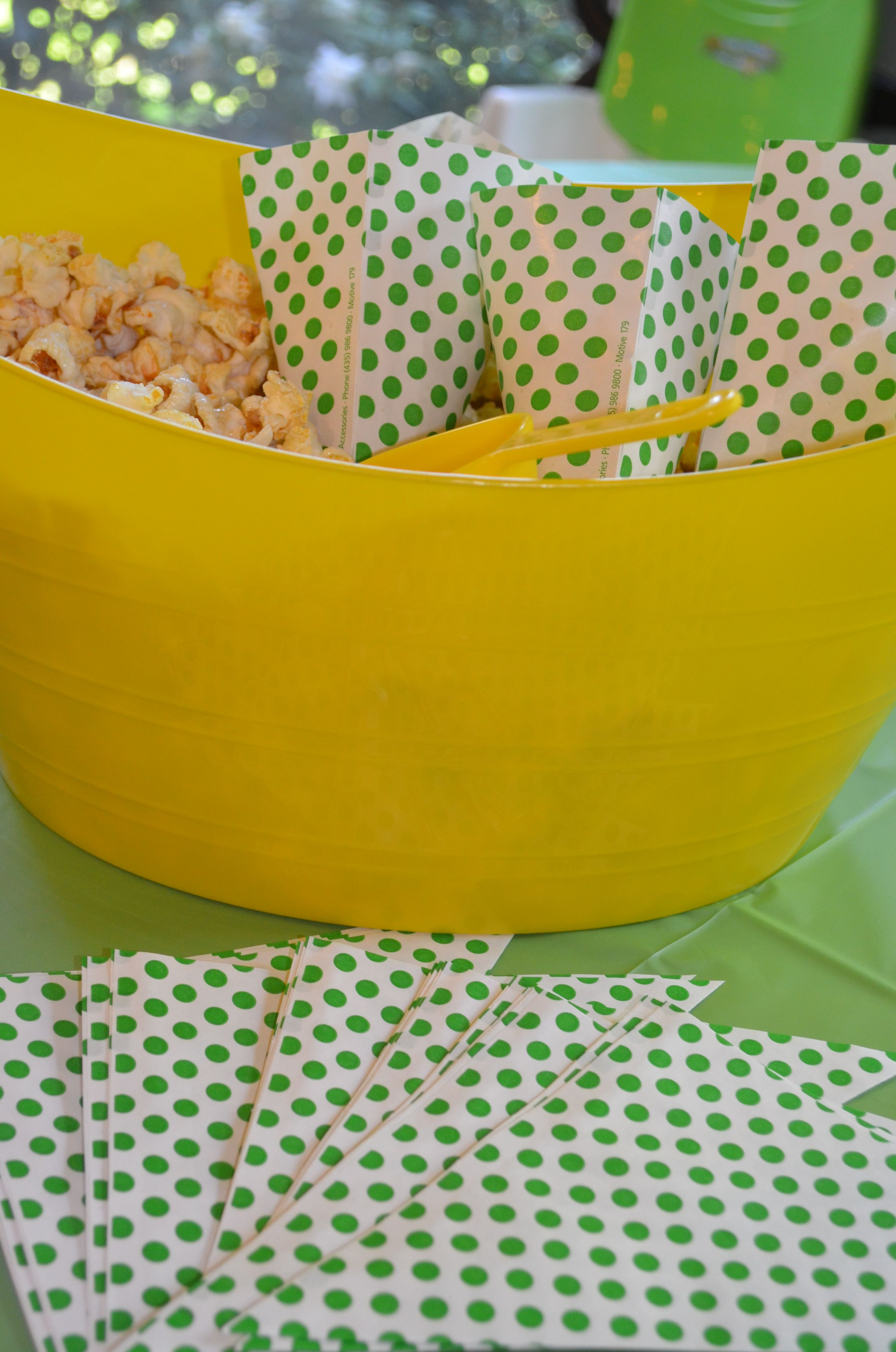 pin all smaller popcorn tubs tub big one bags favor in centerpieces containers