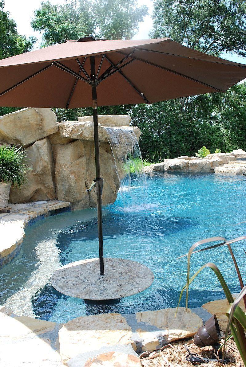 50+ Fascinating Backyard Beach Pool Design Ideas   Backyard ...
