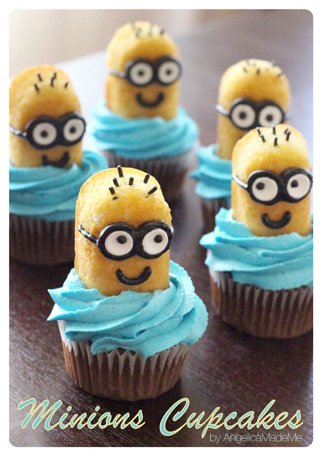 minions twinkie cupcake toppers zoe 39 s minions pinterest geburtstagsfeier geburtstage und. Black Bedroom Furniture Sets. Home Design Ideas
