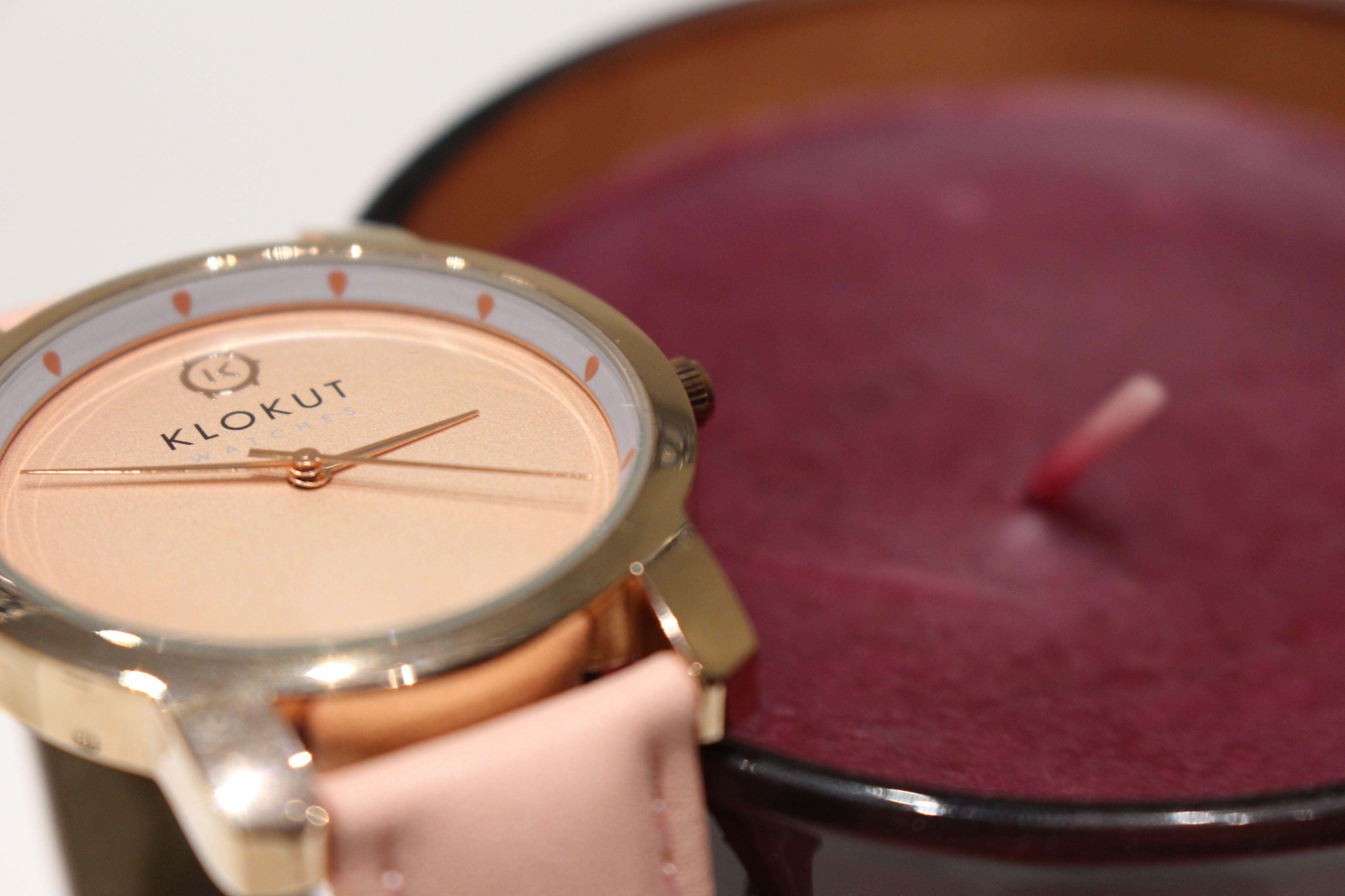#Klokutwatches, una manera diferente de controlar el tiempo