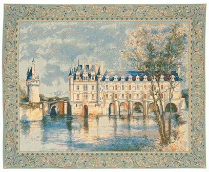 Chenonceau castle european tapestry wall hanging more info could be found at the image