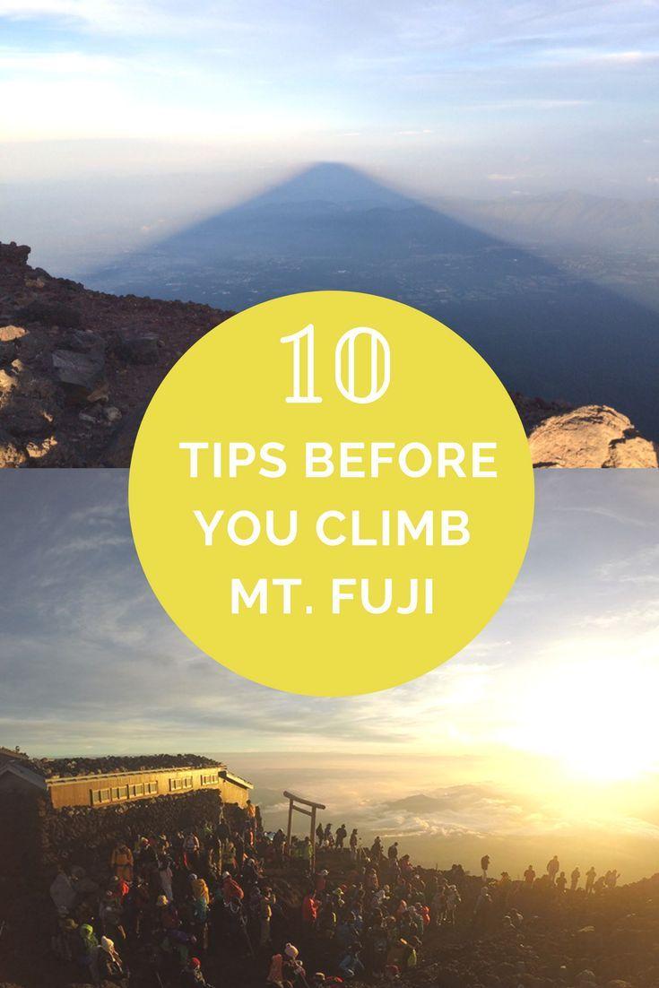 Photo of 10 tips before you climb Mount Fuji