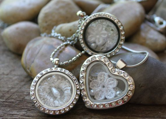 Wedding Lockets Custom Memory With Your Dress Heirloom Collection