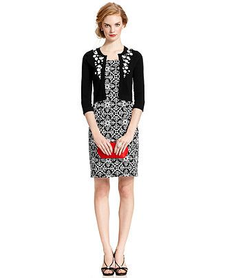 18af6377515 Jessica Howard Petite Dress and Cardigan