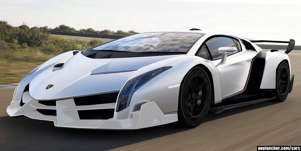 Lamborghini Veneno Green Lamborghini Veneno White Green And