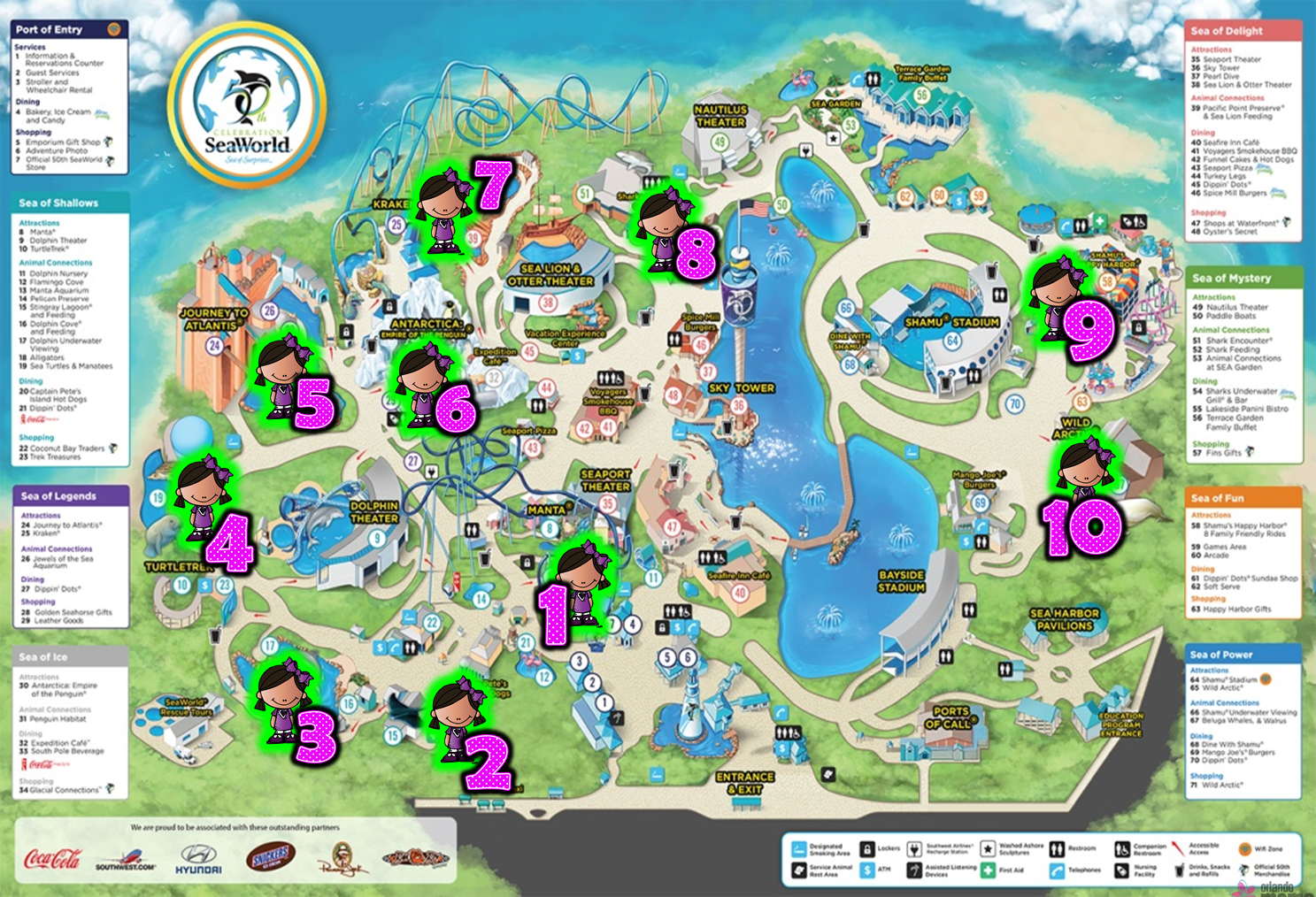 Step by step guide with 10 stops sea world made simple with small step by step guide with 10 stops sea world made simple with small children orlando moms blog gumiabroncs Choice Image