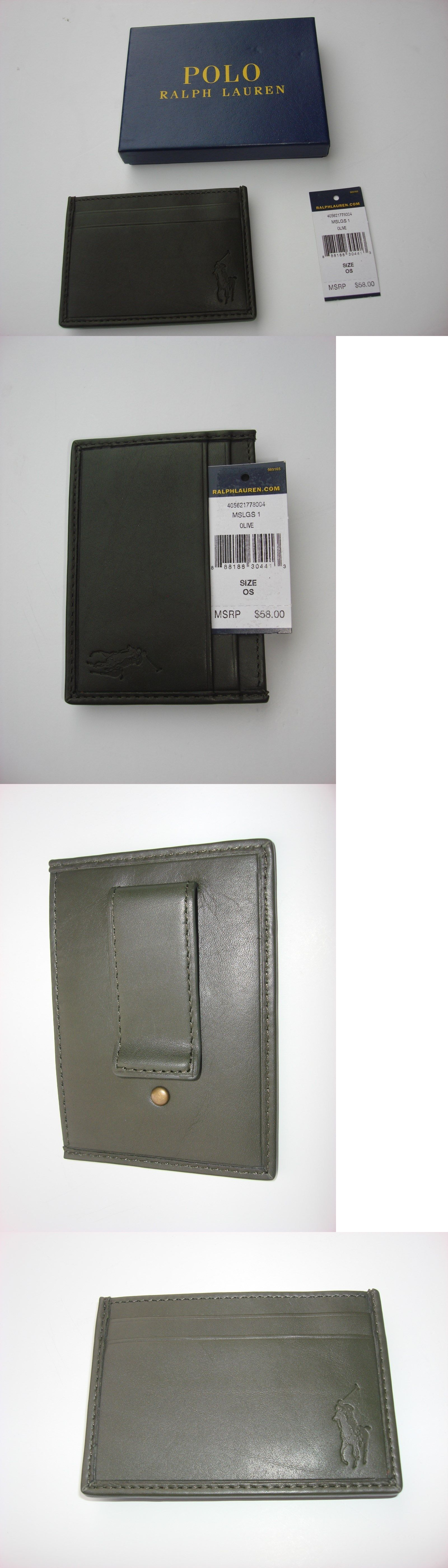 Business and credit card cases 105860 ralph lauren id business business and credit card cases 105860 ralph lauren id business card holder with clip reheart Images
