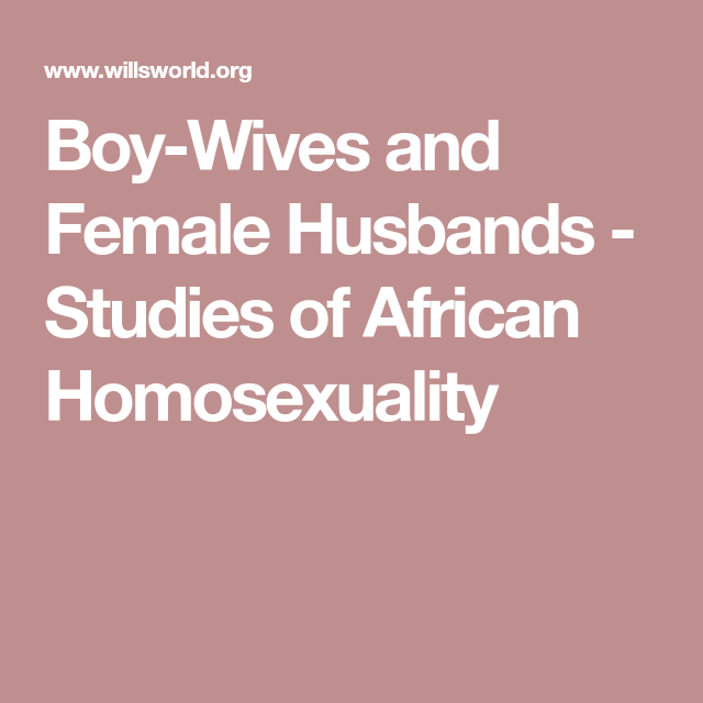 Female homosexuality studies