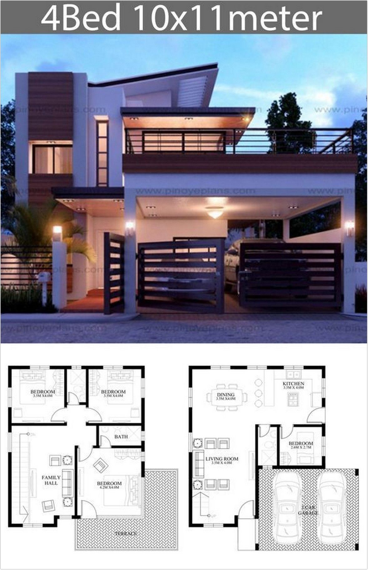 25 Special Edition Modern House Design For Your 2020 Architectural Inspiration 10 Dreamsscape Bungalow House Design Duplex House Design Modern House Plans