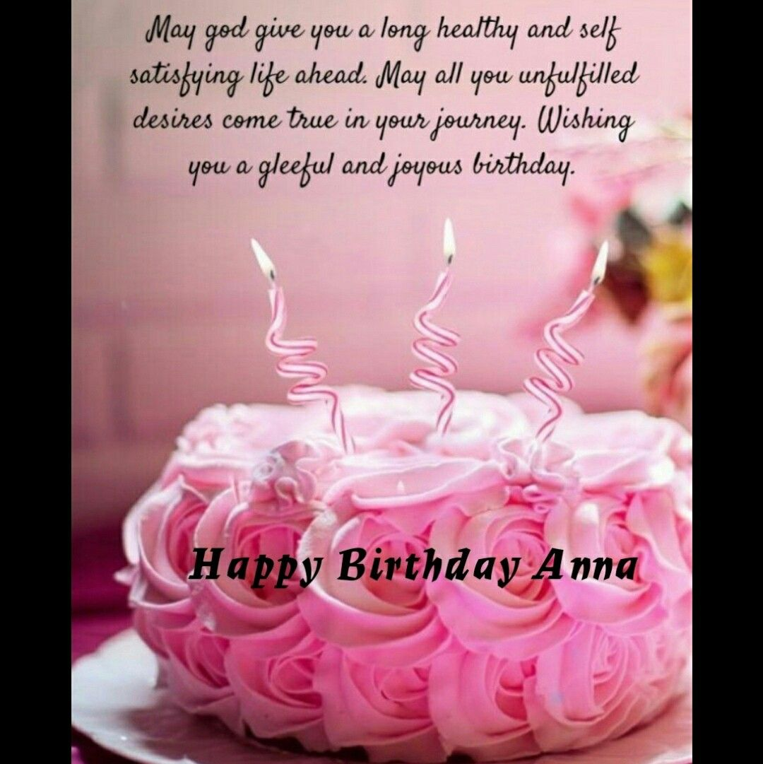 Wish You Many Many More Happy Returns Of The Day My Anna Happy Birthday Happy Returns Birthday