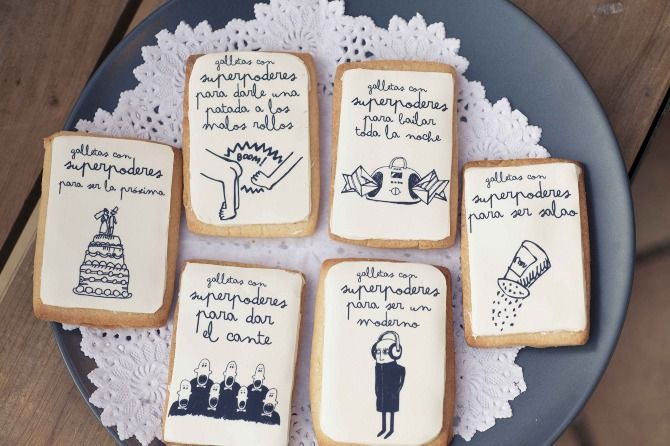 Buenísimas estas Galletas con Superpoderes de Mr Wonderful / Great these Cookies with Superpower designed by Mr Wonderful
