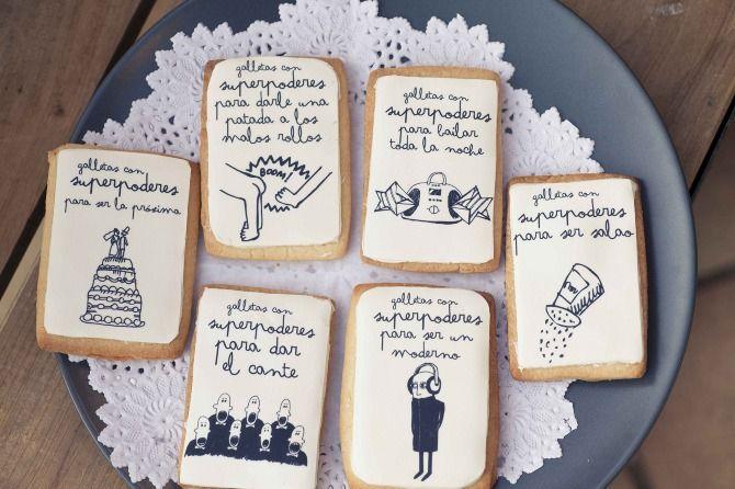 Buenísimas estas Galletas con Superpoderes de Mr Wonderful / Great these Cookies with Superpower designed by Mr Wonderful
