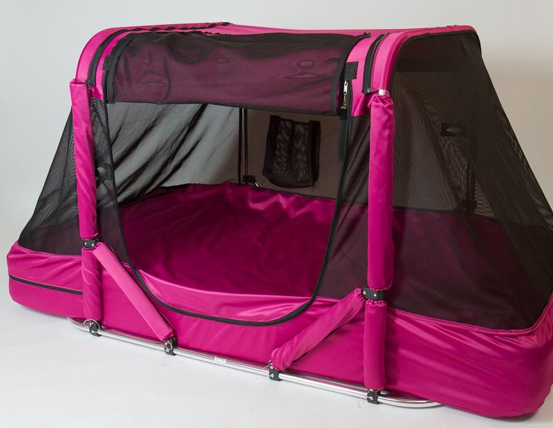 The Safety Sleeper Is A Fully Enclosed And Portable Bed