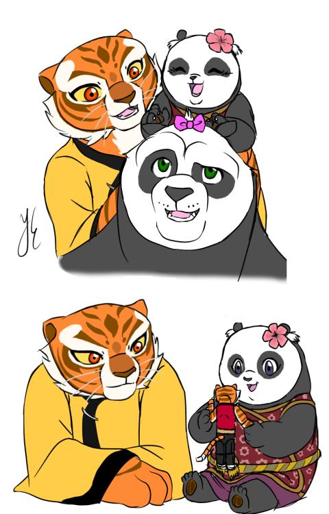 Po and tigress pregnant
