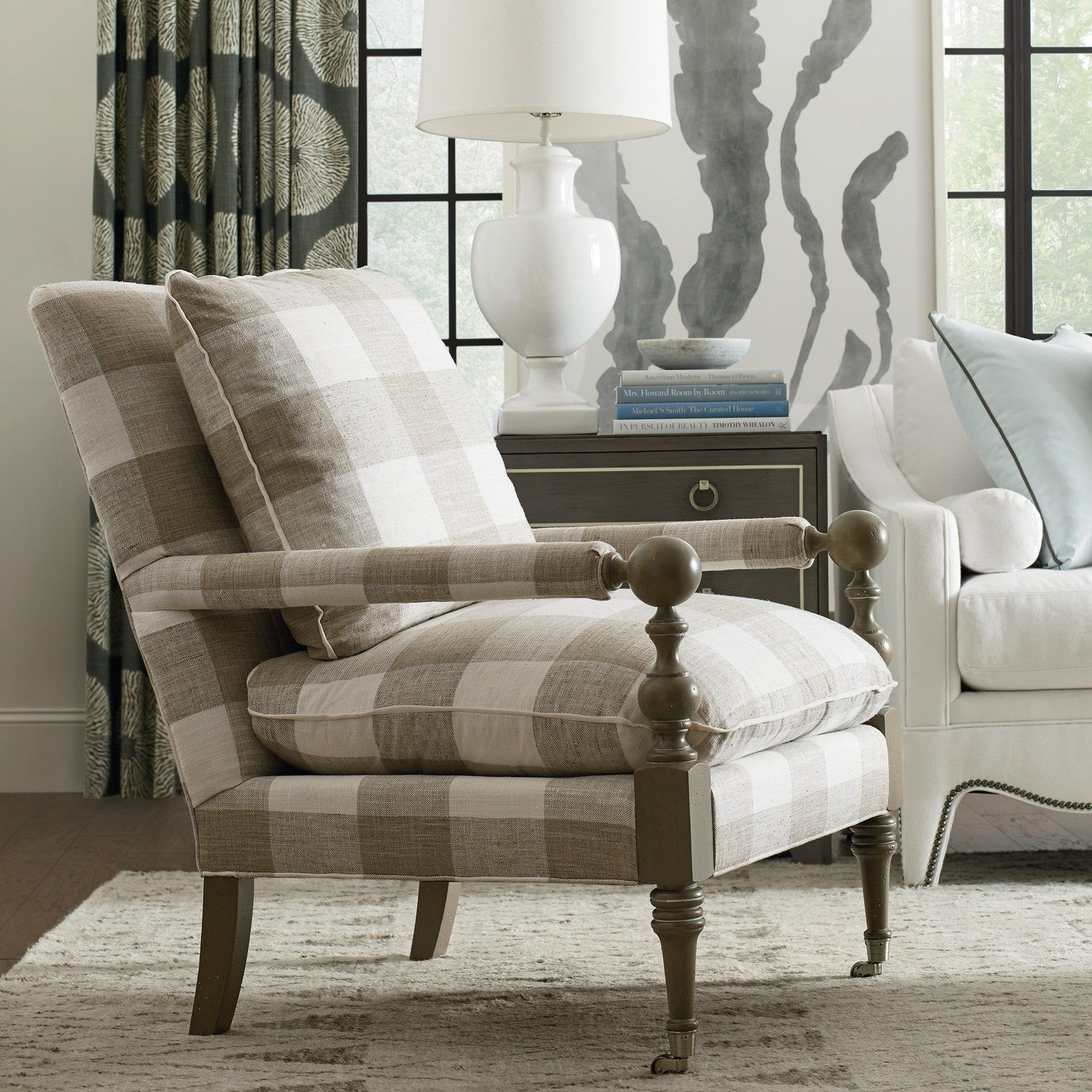 Bradstreet Chair Furniture, Hickory furniture, Cr laine