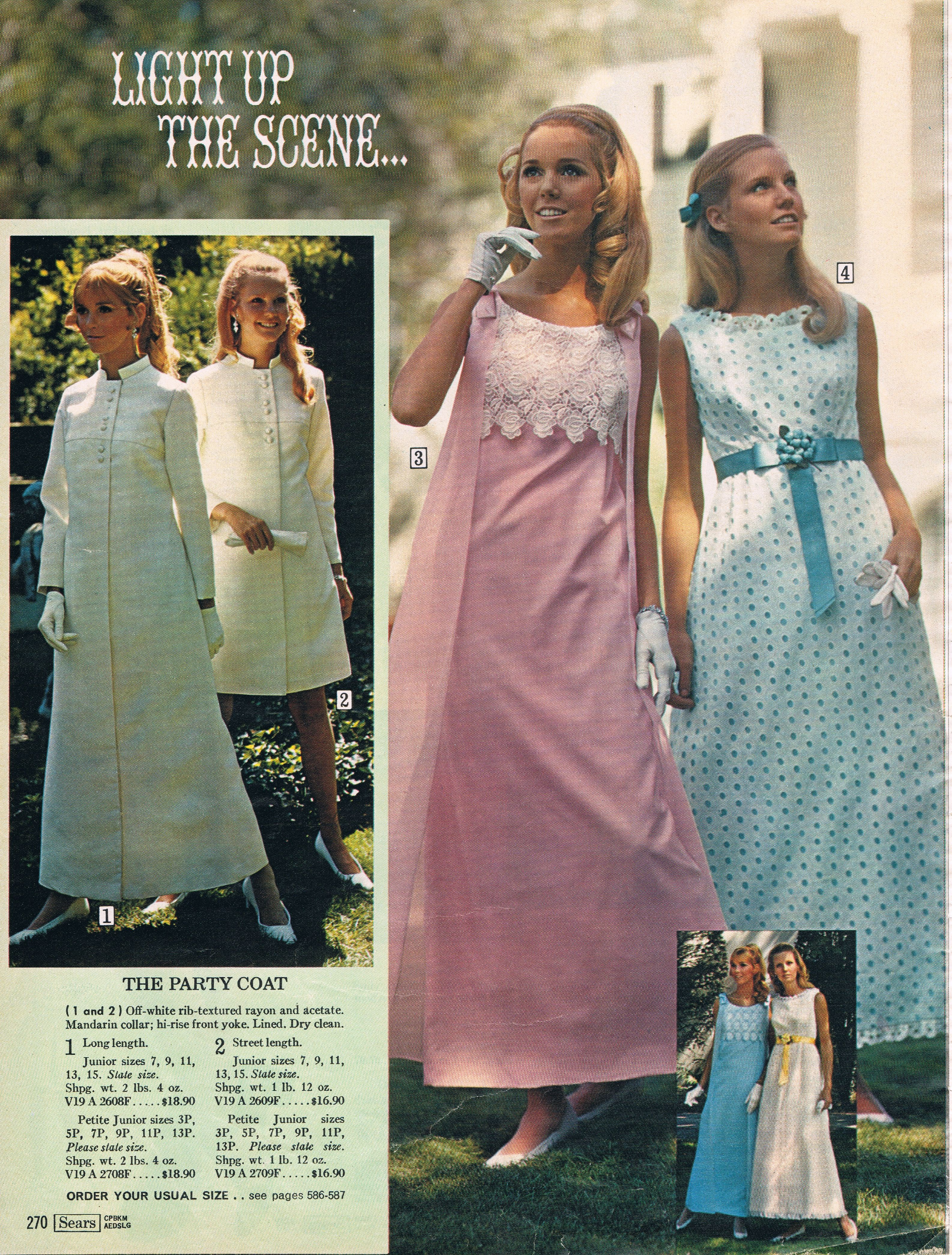 Sears catalog 60s vintage bridal and bridesmaid dresses 1960 sears catalog 60s vintage bridalbridesmaid dresses ombrellifo Gallery