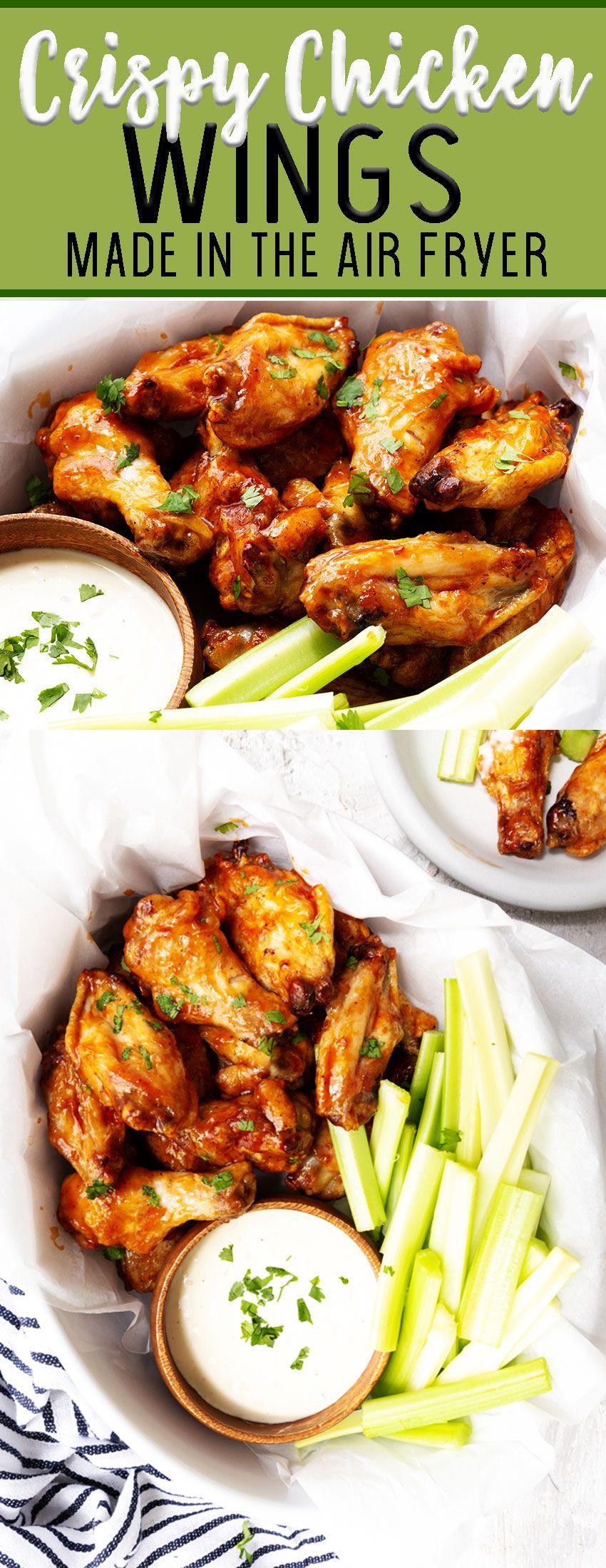 Air Fryer Wings (The Best Ever) - Easy Peasy Meals