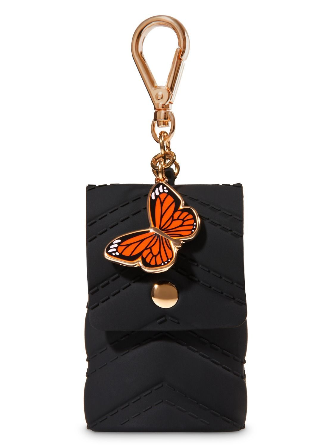 Purse With Butterfly Charm Pocketbac Holder By Bath Body Works