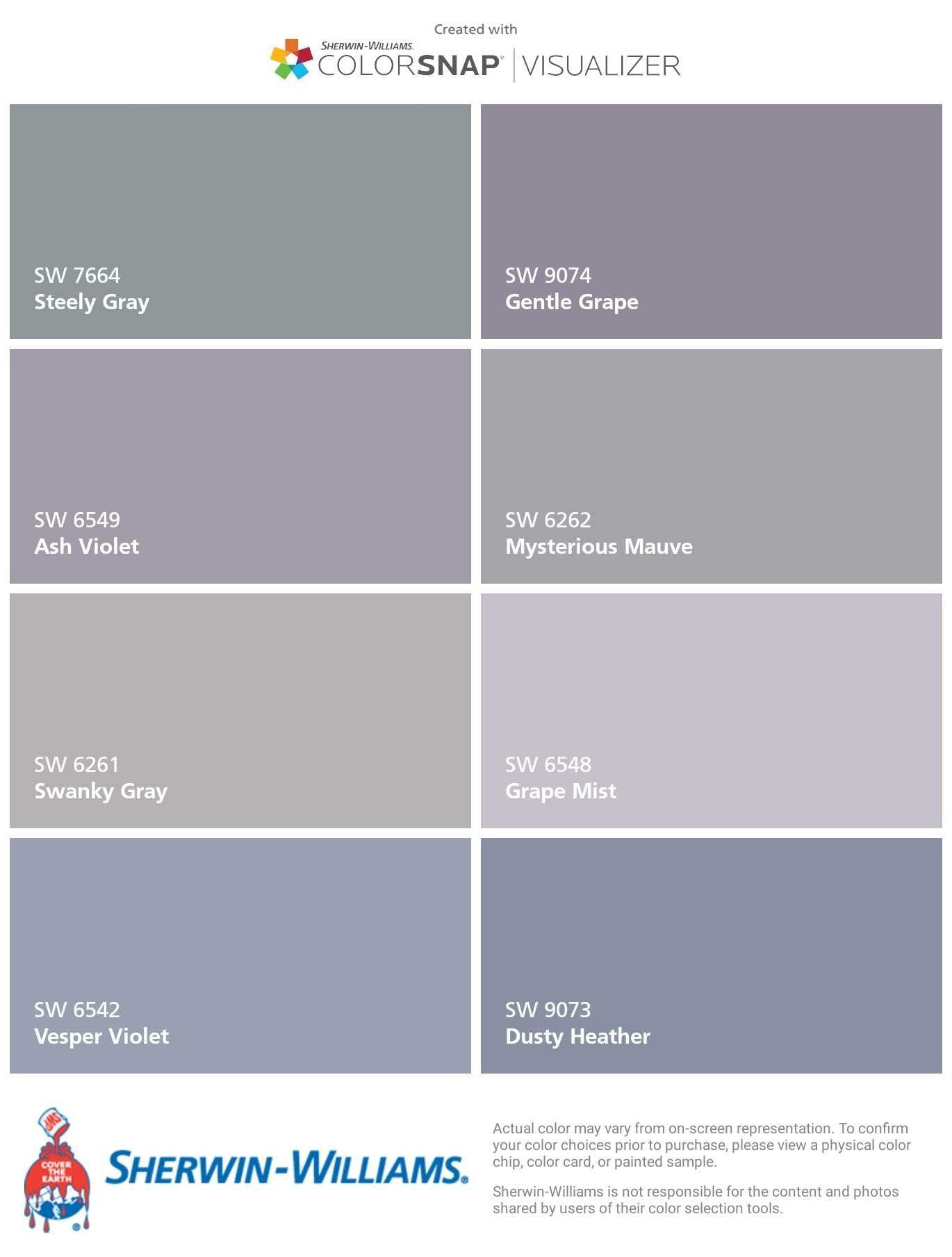 Bathroom Paint Colors For Home Grey Purple Paint Purple Paint Colors