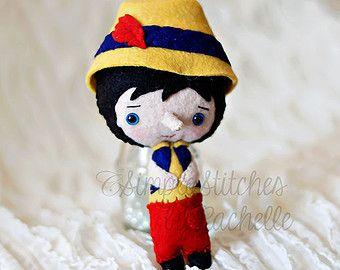 Hecho por encargo Caperucita roja muñeca de por UnBonDiaHandmade