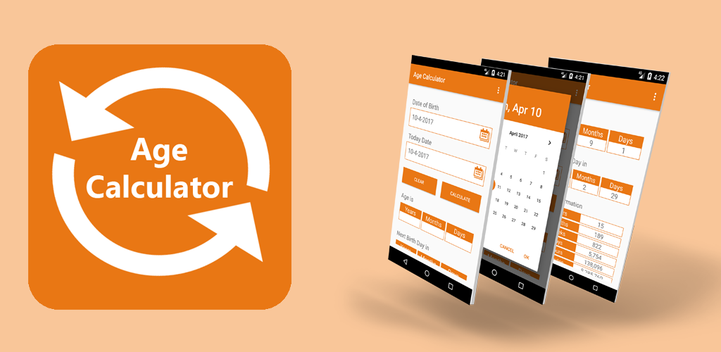 In age calculator app easily calculate age from date of