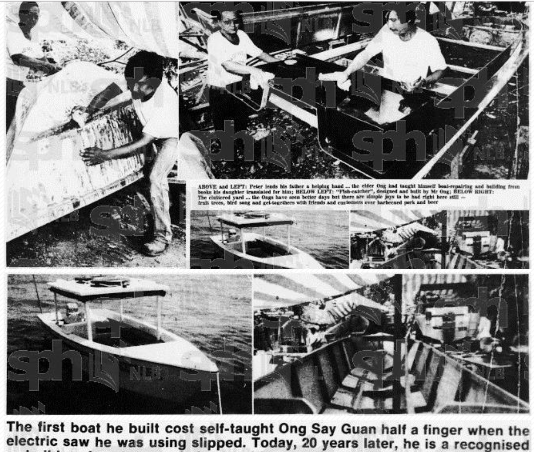 1984 Self Made Boat In Singapore Smhig Boat Singapore Speed Boats