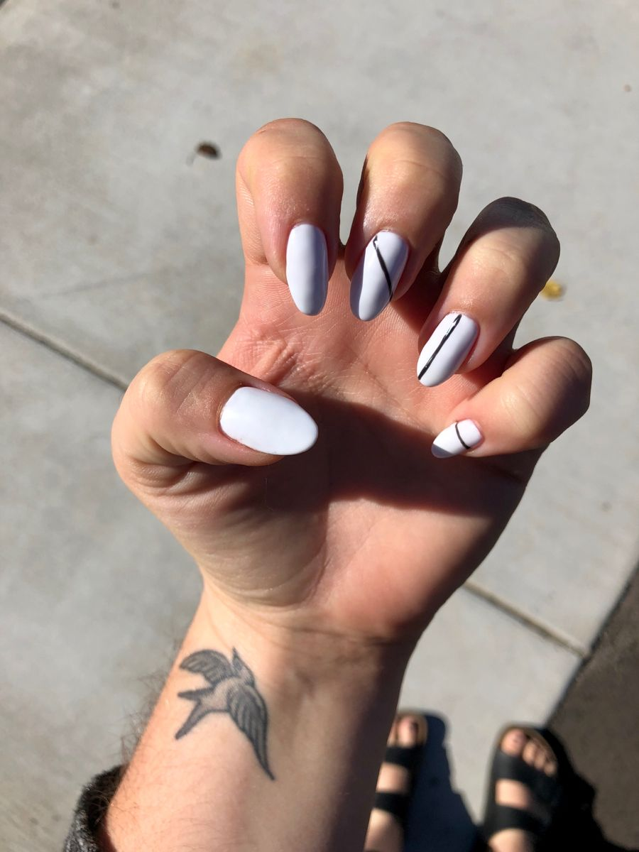Pin by Whitney Harris on Nails   Stiletto shaped nails