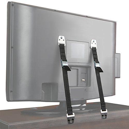 Ella S Furniture Strap Heavy Duty Tv Straps No Plastic Parts Anti Tip Earthquake Resistant Furniture Anchor Furniture Anchors Furniture Straps Baby Proofing