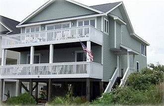 North Topsail Beach House Rental Dolphin S Ridge 120 S Permuda Wynd Vacation Property Beach House Rental Ocean City Beach