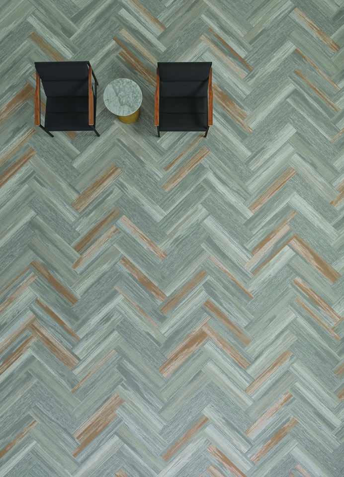 Vertical Layers Collection By Shaw Contract Relief Tile