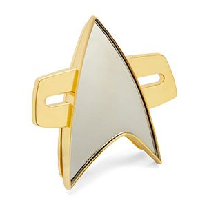 Star Trek: Voyager Communicator Badge | ThinkGeek