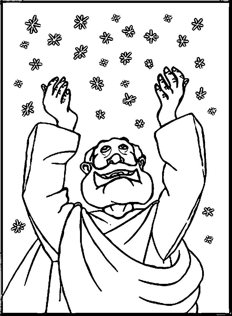 Abraham And Sarah Snow Coloring Page See the category to ...