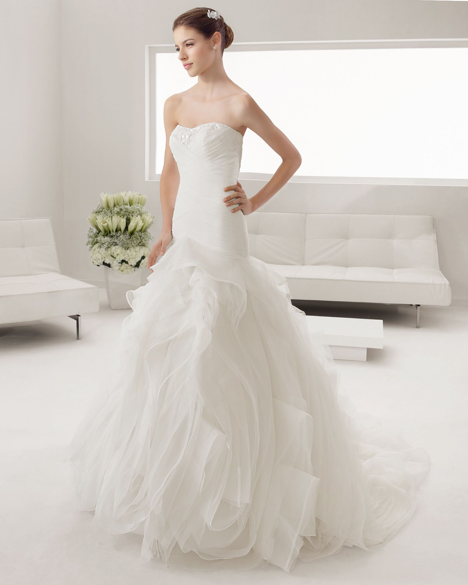8B182 POMPEYA | Wedding Dresses | 2015 Collection | Alma Novia
