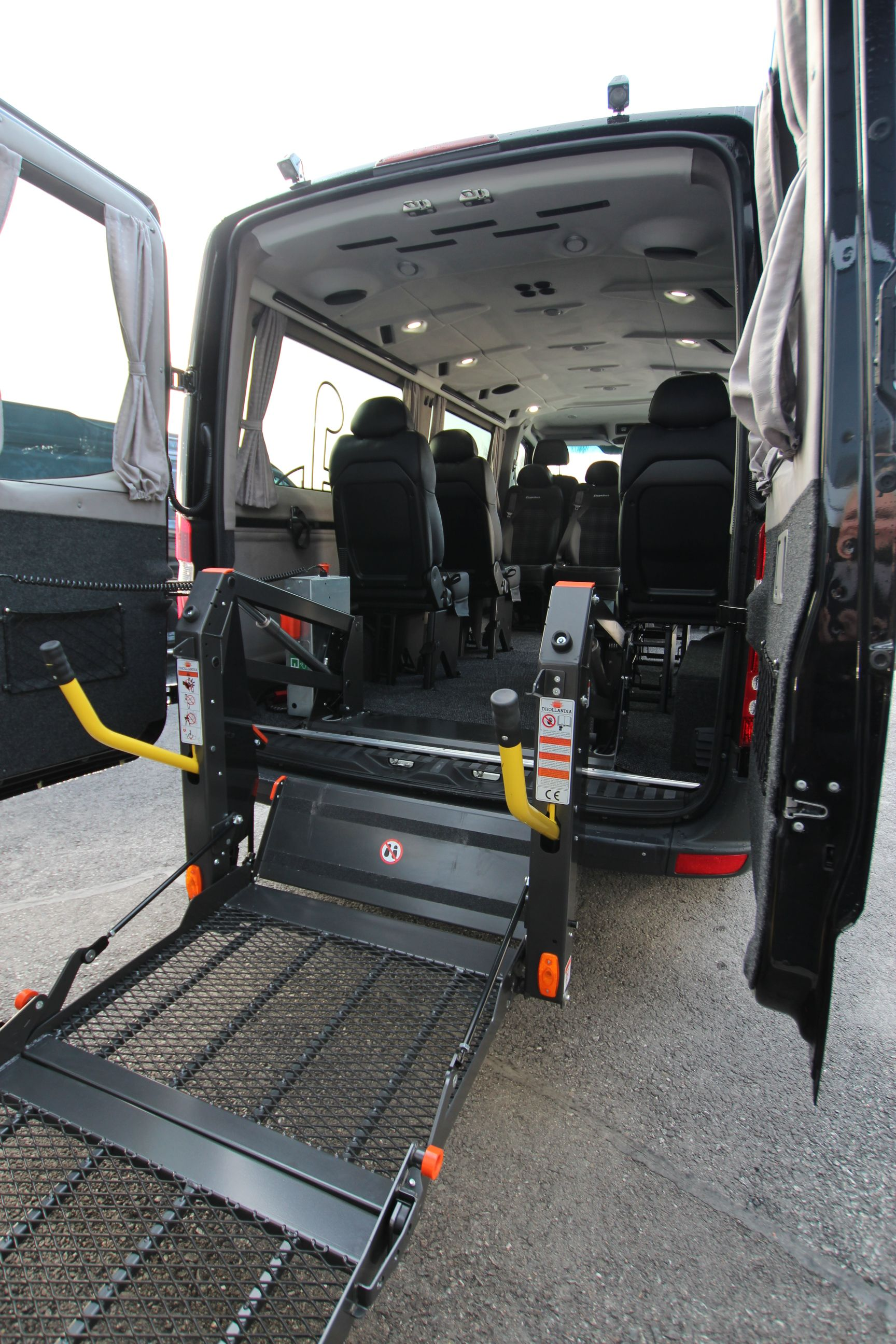 Mercedes Benz Sprinter Tamlans Disabled Taxi with Wheelchair Lift